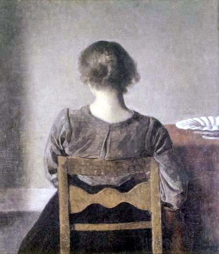 Vilhelm Hammershøi - Break