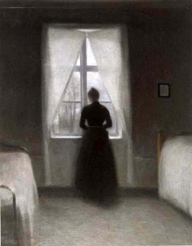 Vilhelm Hammershøi - El dormitorio