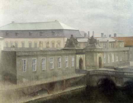 Vilhelm Hammershøi - Christiansborg Palace