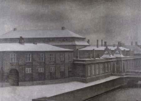 Vilhelm Hammershøi - Château de Christiansborg