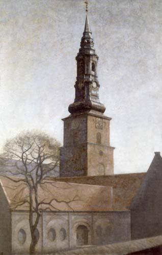 Vilhelm Hammershøi - St. Peters Kirche