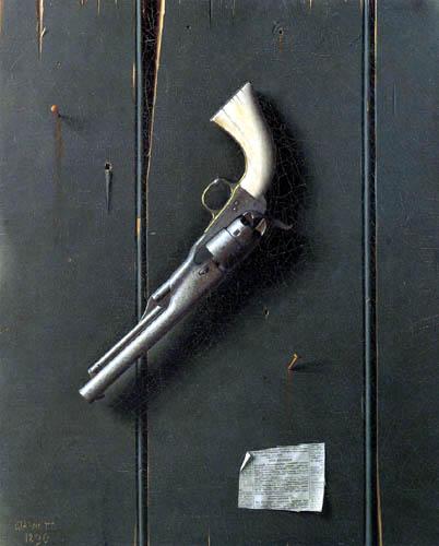 William Michael Harnett - The Faithful Colt