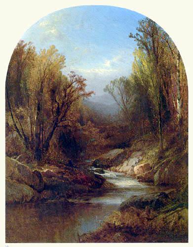 William M. Hart - Autumn in New Hampshire