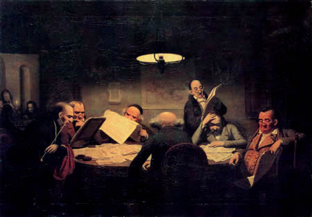Johann Peter Hasenclever - The Read cabinet
