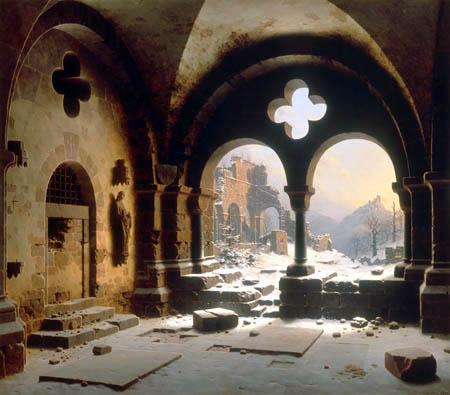 Carl Hasenpflug - Ruina de Monasterio