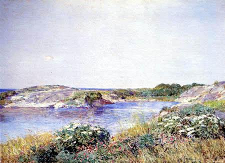 Childe Hassam - Der kleine Teich, Appledore