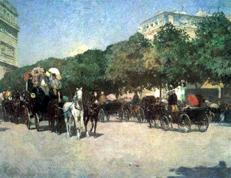 Childe Hassam - Der Tag des Grand Prix