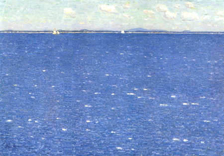 Childe Hassam - Westwind, Isles of Shoals
