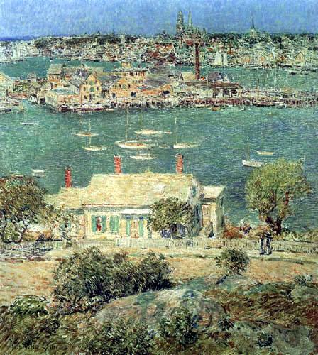 Childe Hassam - Der Hafen von Gloucester