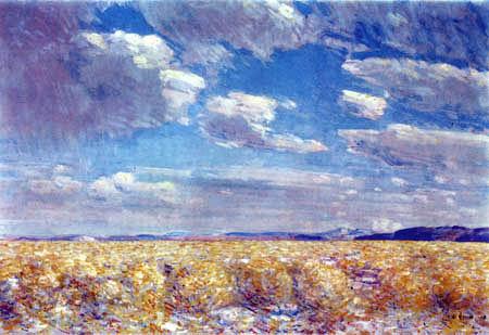 Childe Hassam - Nachmittagshimmel in der Harney Wüste