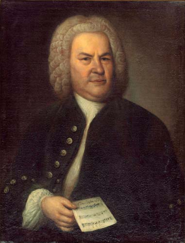 Elias Gottlob Haussmann - Johann Sebastian Bach