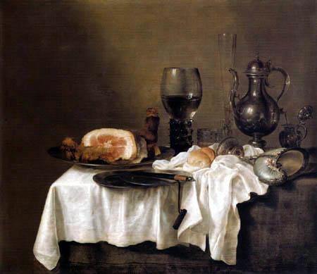 Willem Claesz Heda - Still Life with Ham