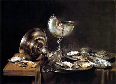 Willem Claesz Heda - Still Life with a Cup