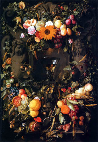 Jan Davidsz de Heem - Fruits and flowers