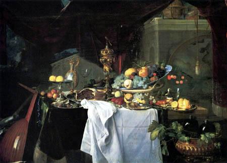 Jan Davidsz de Heem - Ein Dessert