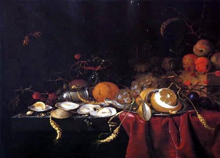 Jan Davidsz de Heem - Sumptuous Still Life