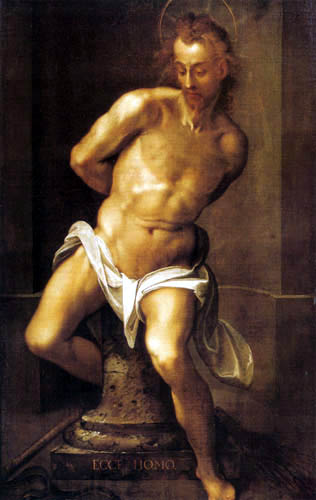 Joseph d. Ä. Heintz - Jesus at the Column