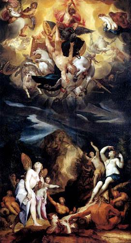 Joseph d. Ä. Heintz - The fall of Phaeton