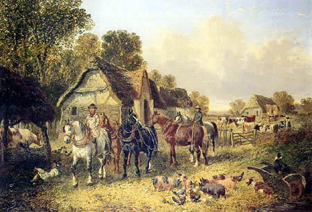 John Frederick Herring, Junior - The Farmyard