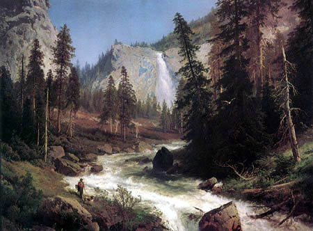 Hermann Herzog - Sentinel Rock, Yosemite