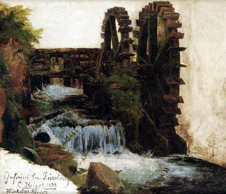 Carl Hilgers - Winkelser Mühle an der Düssel