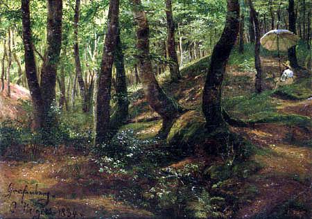 Carl Hilgers - Freilichtmaler in der Wolfsschlucht
