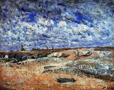 Carl Fredrik Hill - Landscape with clouds