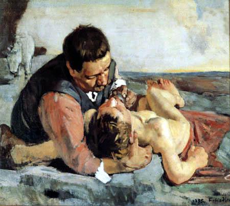 Ferdinand Hodler - El Samaritano piadoso