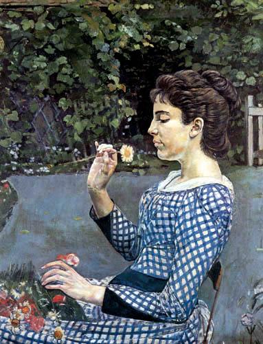 Ferdinand Hodler - Frauenbildnis