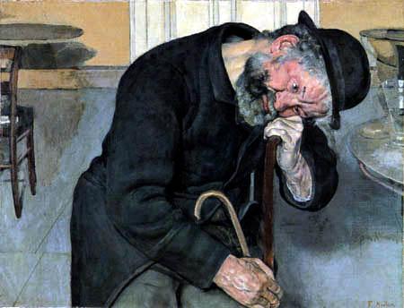 Ferdinand Hodler - A poor soul