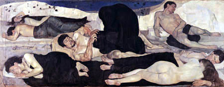 Ferdinand Hodler - La noche