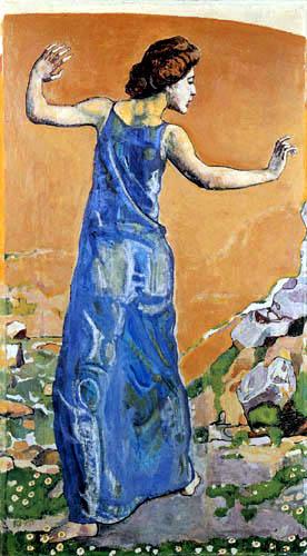 Ferdinand Hodler - A happy woman