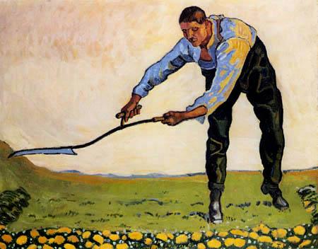 Ferdinand Hodler - El Segador