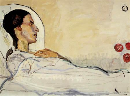 Ferdinand Hodler - The ill Valentine