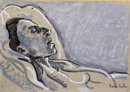 Ferdinand Hodler - La Valentine que muere