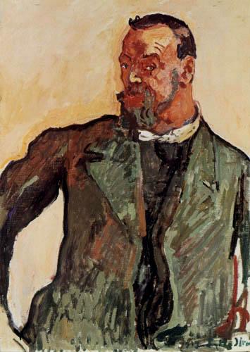 Ferdinand Hodler - Autorretrato