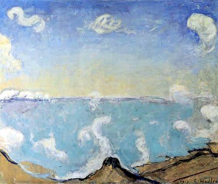 Ferdinand Hodler - Nubes ascendentes