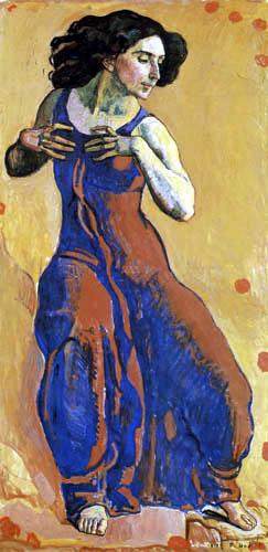 Ferdinand Hodler - Frau in Ekstase