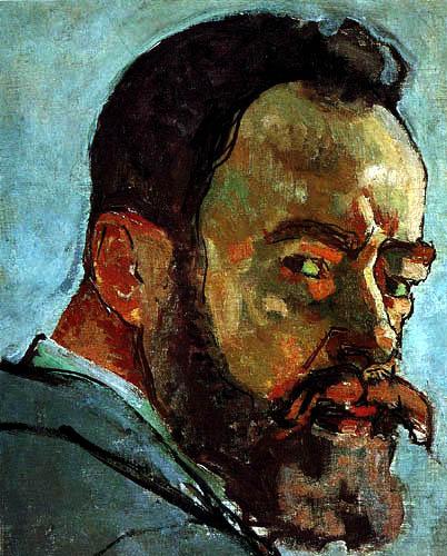 Ferdinand Hodler - Autorretrato, detalle