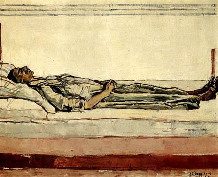 Ferdinand Hodler - The dead Valentine Gode Darel