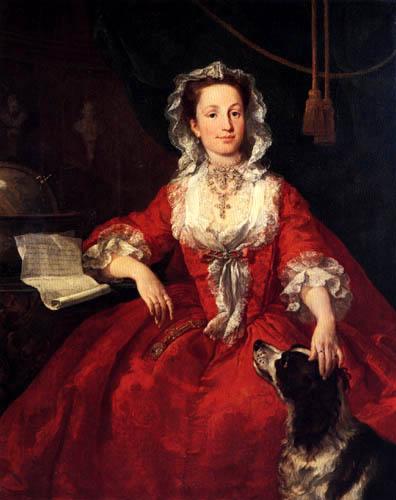 William Hogarth - Miss Mary Edwards