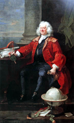 William Hogarth - Captain Thomas Coram