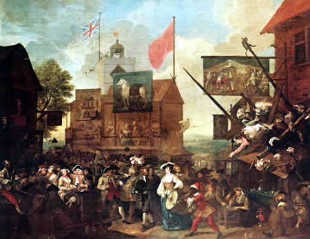 William Hogarth - Fair of Southwark