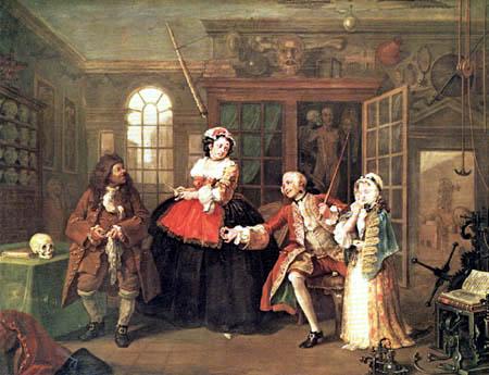 William Hogarth - Der Scharlatan