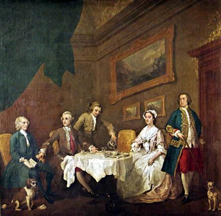 William Hogarth - Die Familie Strode