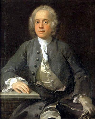 William Hogarth - Porträt eines Herrn