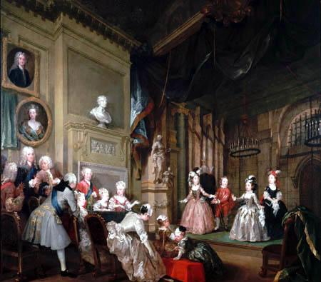 William Hogarth - Der indianische Kaiser