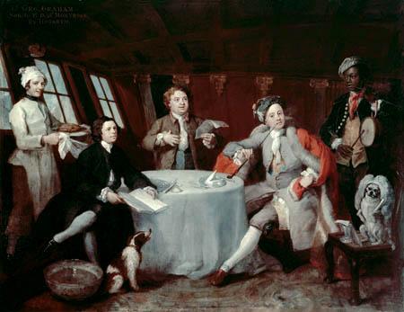 William Hogarth - Captain Lord George Graham