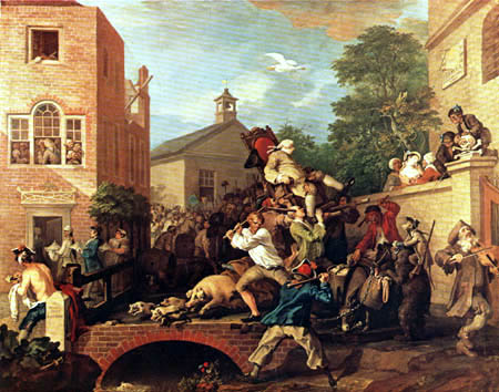 William Hogarth - The Triumph