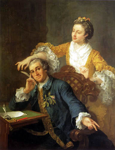 William Hogarth - Mr. und Mrs. Garrick